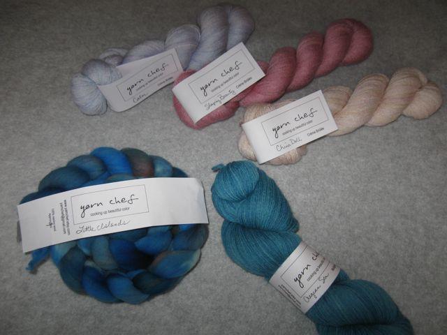 YarnChef yarn and roving