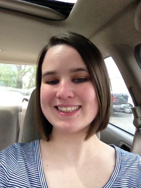 picture of me with my hair shorter